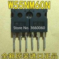 10 adet/grup STW55NM60ND 55NM60ND W55NM60 55N60 55A600V