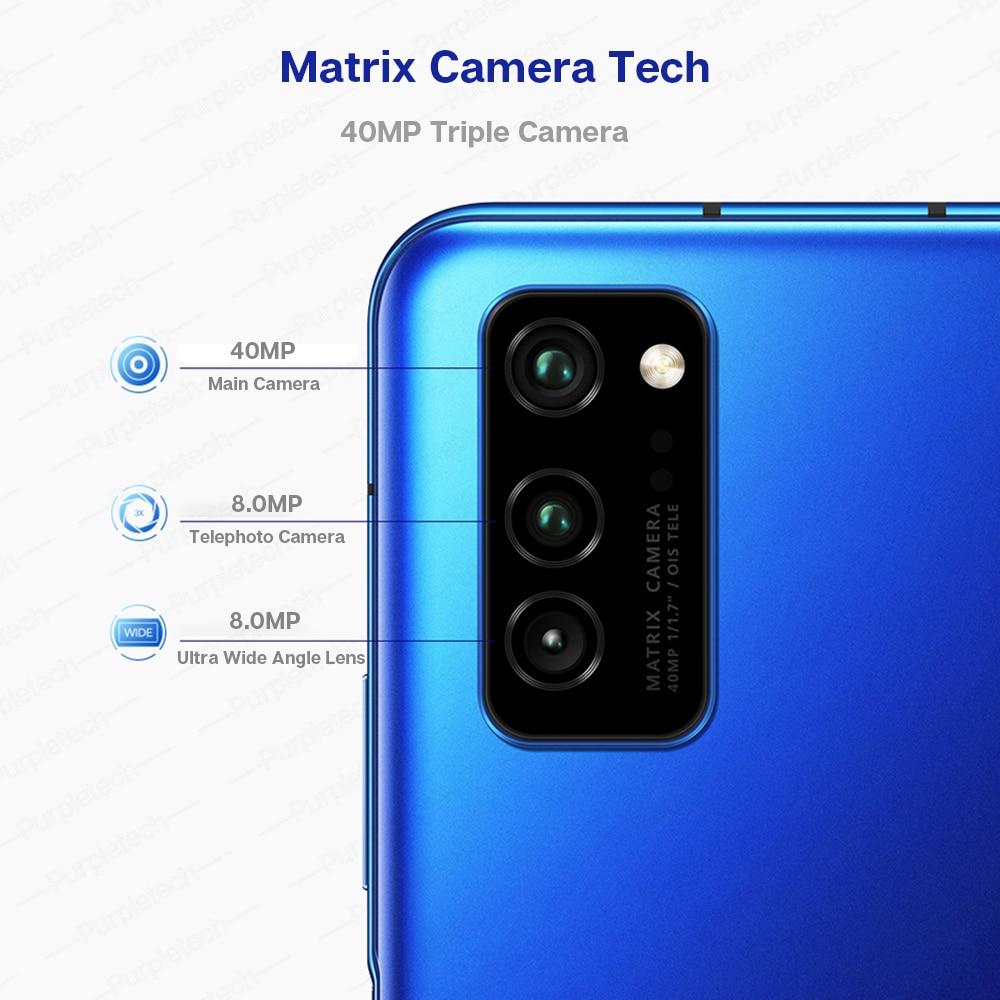 Original Honor V30 Kirin990 7nm Octa core 5G Smartphone 40w Super charge (5)