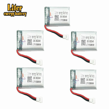 цена на 5pcs 3.7v 850mah 852540 Battery Lipo Battery for Syma X5C-1 X5C X5 X5SC X5SW X6SW H9D H5C Drone Parts RC Drones Quadcopter