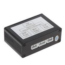 Araba geri kamera sağ görüş kör bölge sistemi akıllı anahtarlama ön görünüm dikiz iki yönlü kontrol kutusu