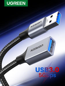 Ugreen Cable Extender-Cord Usb-Extension-Cable USB3.0 Male-To-Female for PC TV