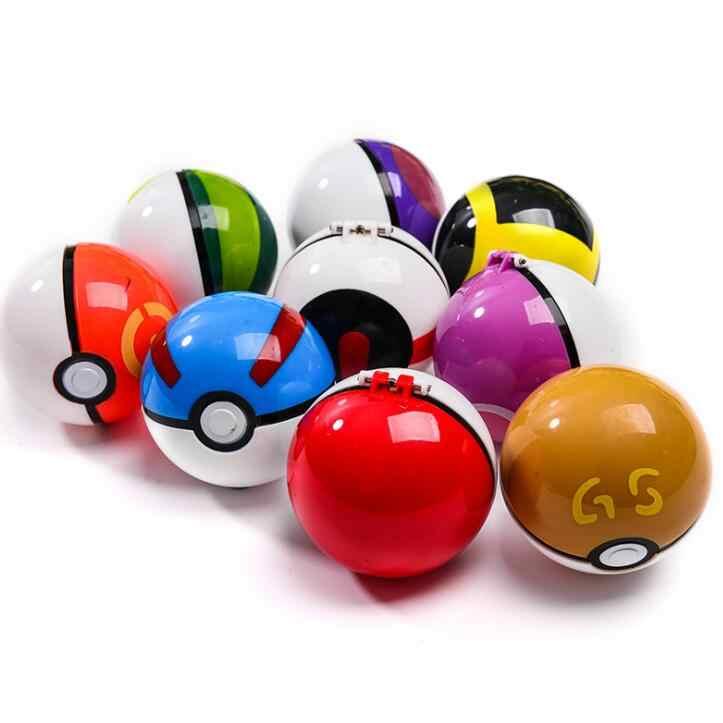 1pc Pokeballs + 1 gratis Willekeurige Speelgoed Action Figure Pikachu Speelgoed Pop hot