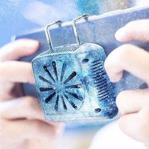 Image 1 - الهاتف المحمول برودة مروحة التبريد ل IOS آيفون أندرويد هواوي سامسونج الهاتف الذكي PUBG لعبة حامل لوحة التبريد