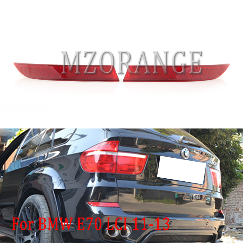 1pcs Rear Bumper Reflector Red Right Side For BMW X5 E70 2007-2013
