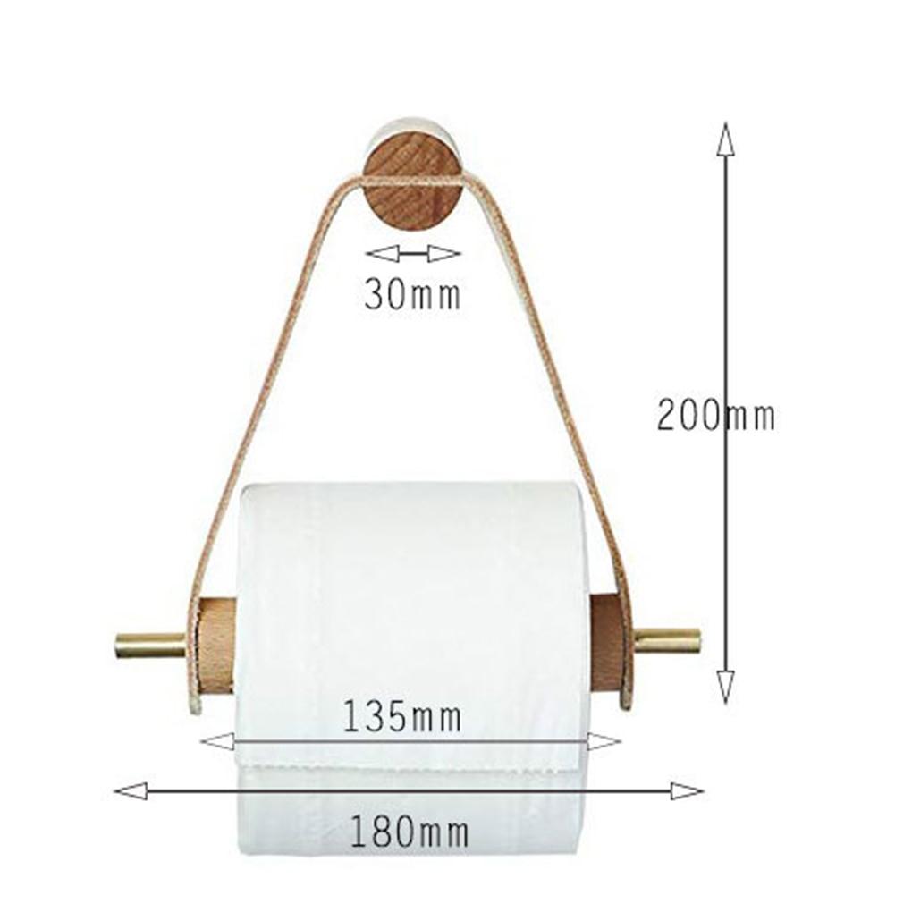 Купить деревянный держатель туалетной бумаги для ванной комнаты диспенсер