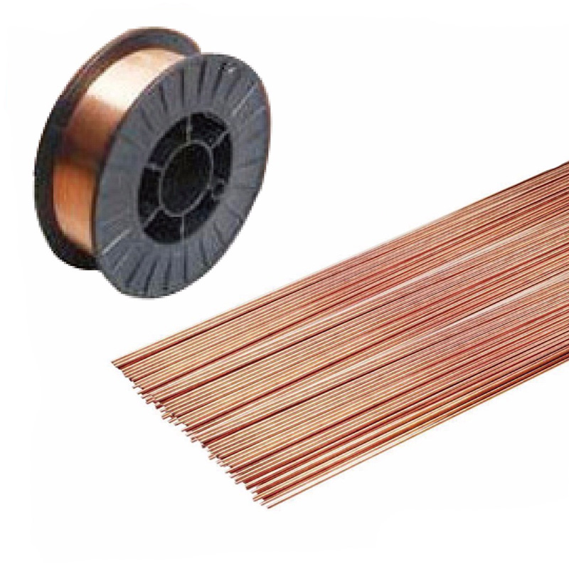 Gas Welding Rods Copper Coated Mild Steel 0.8mm 1.0mm 1.2mm 1.6mm 2.0mm 2.5mm 3.2mm CCMS MIG Welding Wire Electrodes Filler Rod