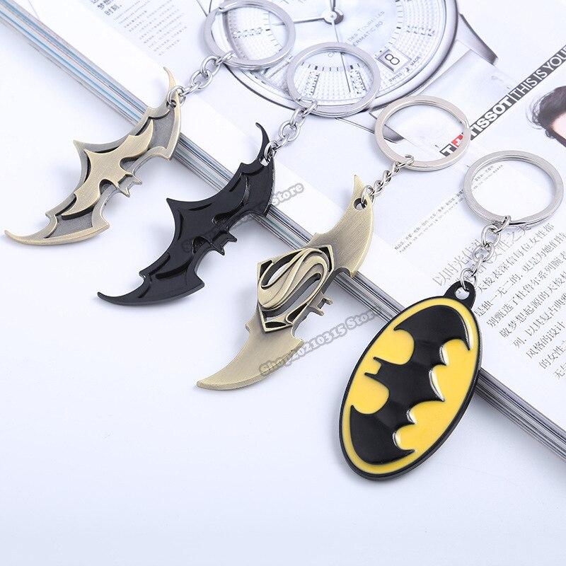 Аниме Бэтмен Человек подвесной брелок с логотипом, логотипы марок машин, брелок для ключей, автомобильные аксессуары, брелок для автомобиля...