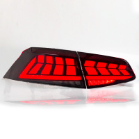 Applicable to 17 19 Volkswagen Magotan B8 taillights modified LED horse racing lights streamer steering taillight assembly