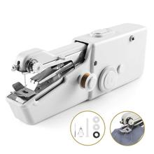 Household Portable Handheld Electronic  Mini sewing machine Sew needlework Cordless Clothes Fabrics Single thread sealing sewing