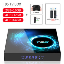 2020New T95 Smart TV Box Android 10.0 4GB 32GB 64GB Allwinne