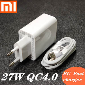Xiaomi Adapter C-Cable Turbo-Charge Usb-Type Note-7 Redmi 27W 8-Pro CC9 Qc 4.0 Original
