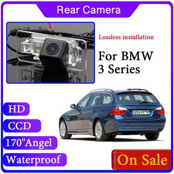 For BMW 3 Series E46 E90 E91 E92 E93 F30 F31 F34 2004~2019 Reverse Parking High Quality Waterproof Camera image
