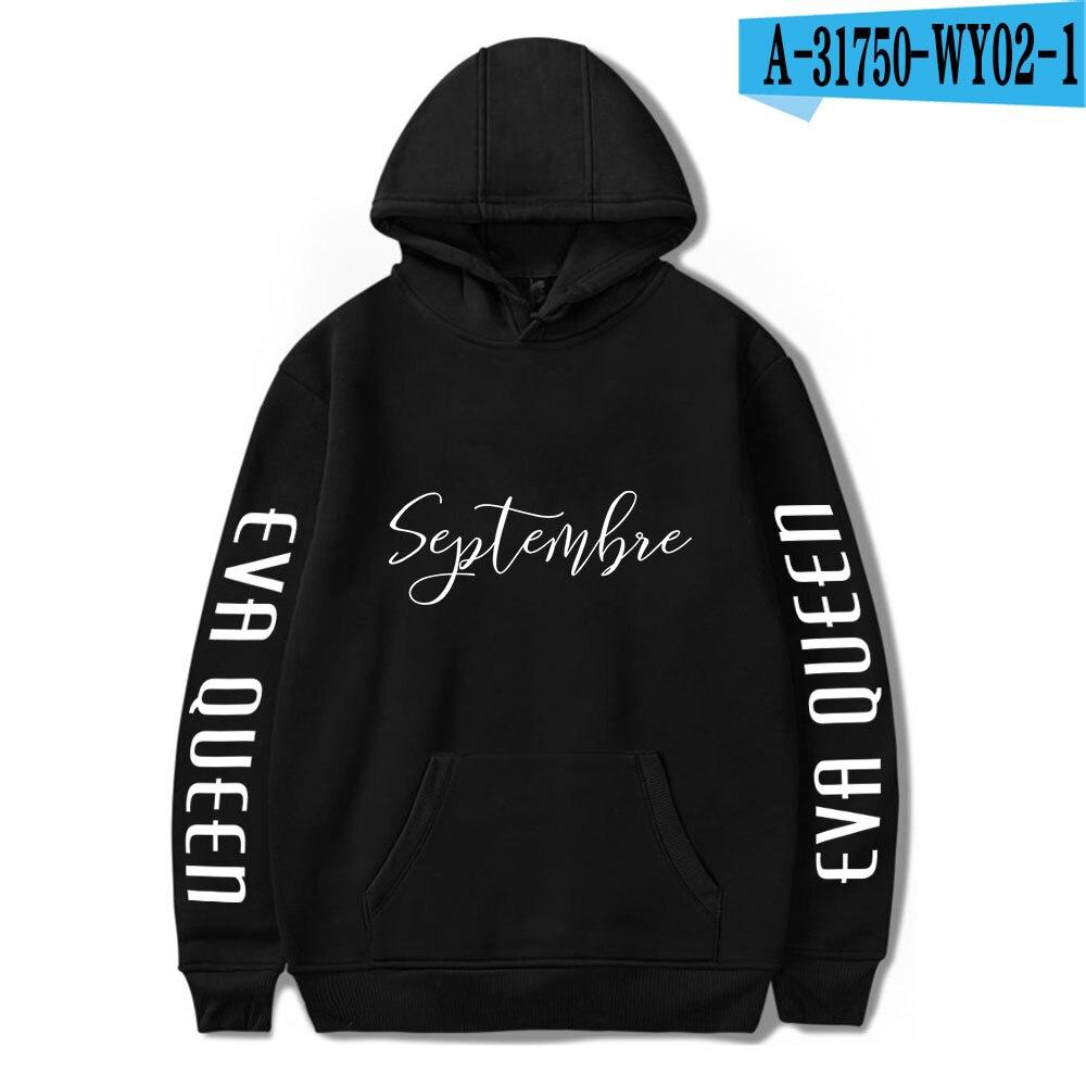 2020 Eva Queen Hoodies Men Casual Streetwear Sweatshirt Sudadera Hombre Eva Queen Hoodie For Men/Women 31