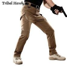 Mens IX9 Tactical Cotton Pants Military Army Combat Cargo Pants Stretch Flexible Man Casual Multi Pockets Black Trousers XXXL