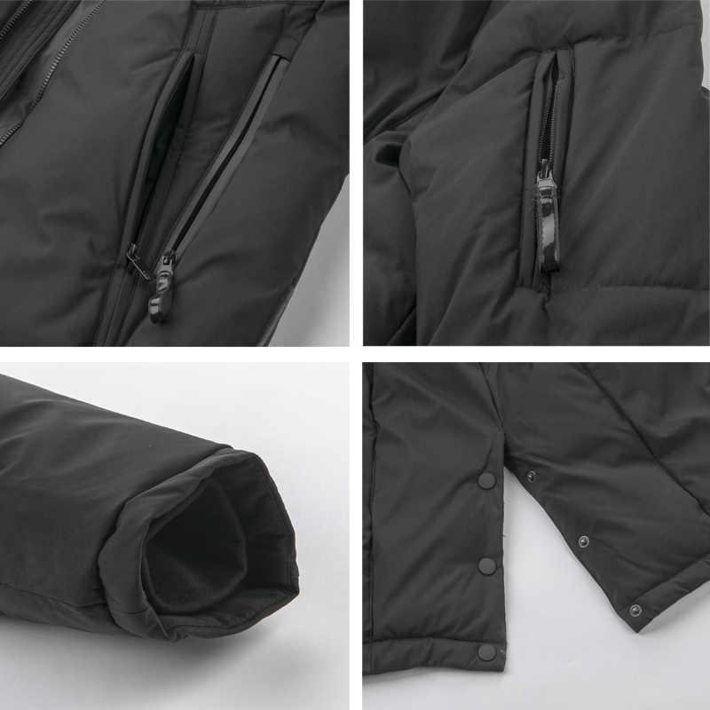 ICEbear 新メンズ服高品質男性の厚く暖かい服ブランドアパレル MWD19815I