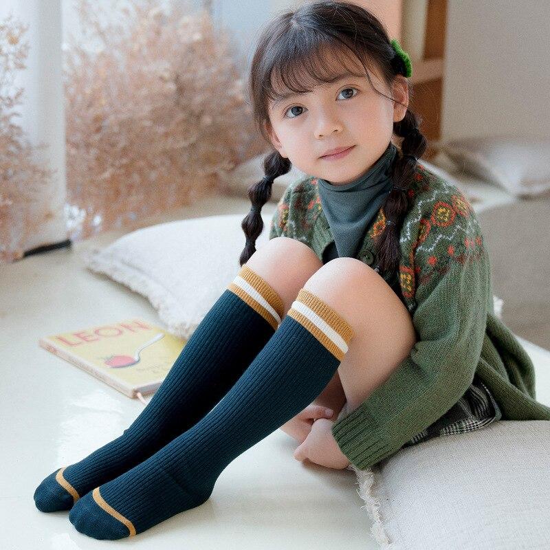 Children Tube Socks Kid Pile Of Cotton Socks Stockings Summer Cartoon Boys Girls Kid Socks Breathable Stocking Tube Floor Socks
