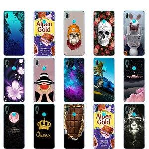 Image 3 - Für Huawei Y7 2019 Fall für Huawei y7 Prime 2019 Silicon TPU Abdeckung Weiche Telefon Fall Für Huawei Y7 2019 Y 7 Y7Prime Y7 Prime 2019