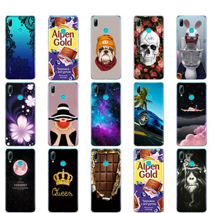 Image 3 - For Huawei Y7 2019 Case for Huawei y7 Prime 2019 Silicon TPU Cover Soft Phone Case For Huawei Y7 2019 Y 7 Y7Prime Y7 Prime 2019