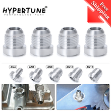 free shipping 4PCS/PACK Top Quality Aluminum AN4/6/8/10/12 Straight Male Weld Fitting
