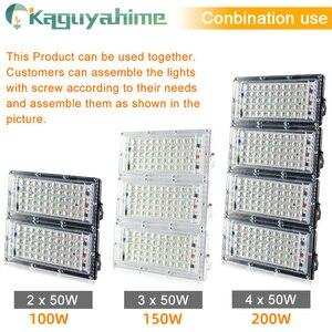 Image 4 - Светодиодный прожектор Kaguyahime, 50 Вт, 220 В, уличная лампа, водонепроницаемый точечный светильник IP65, фокусный отражатель, светодиодный светильник, уличсветильник прожектор холодного белого света