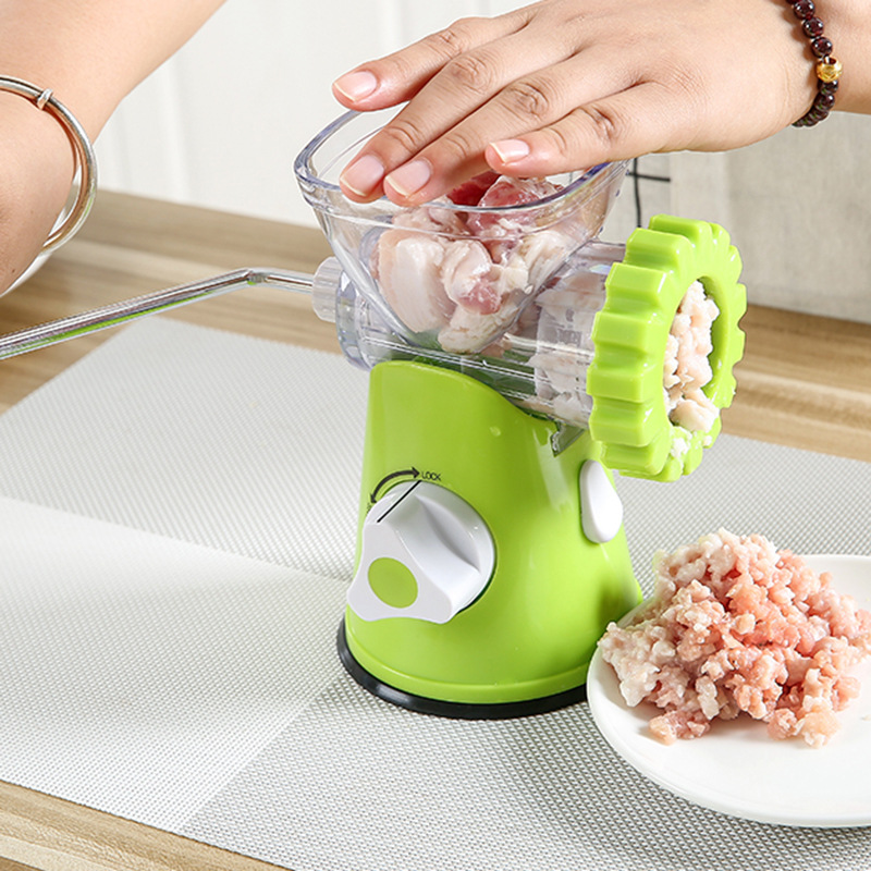 New Multifunctional Kitchen Manual Meat Grinder 3-In-1 Sausage Machine Pasta Maker Vegetable Grinder Mincer Meat Food Processor
