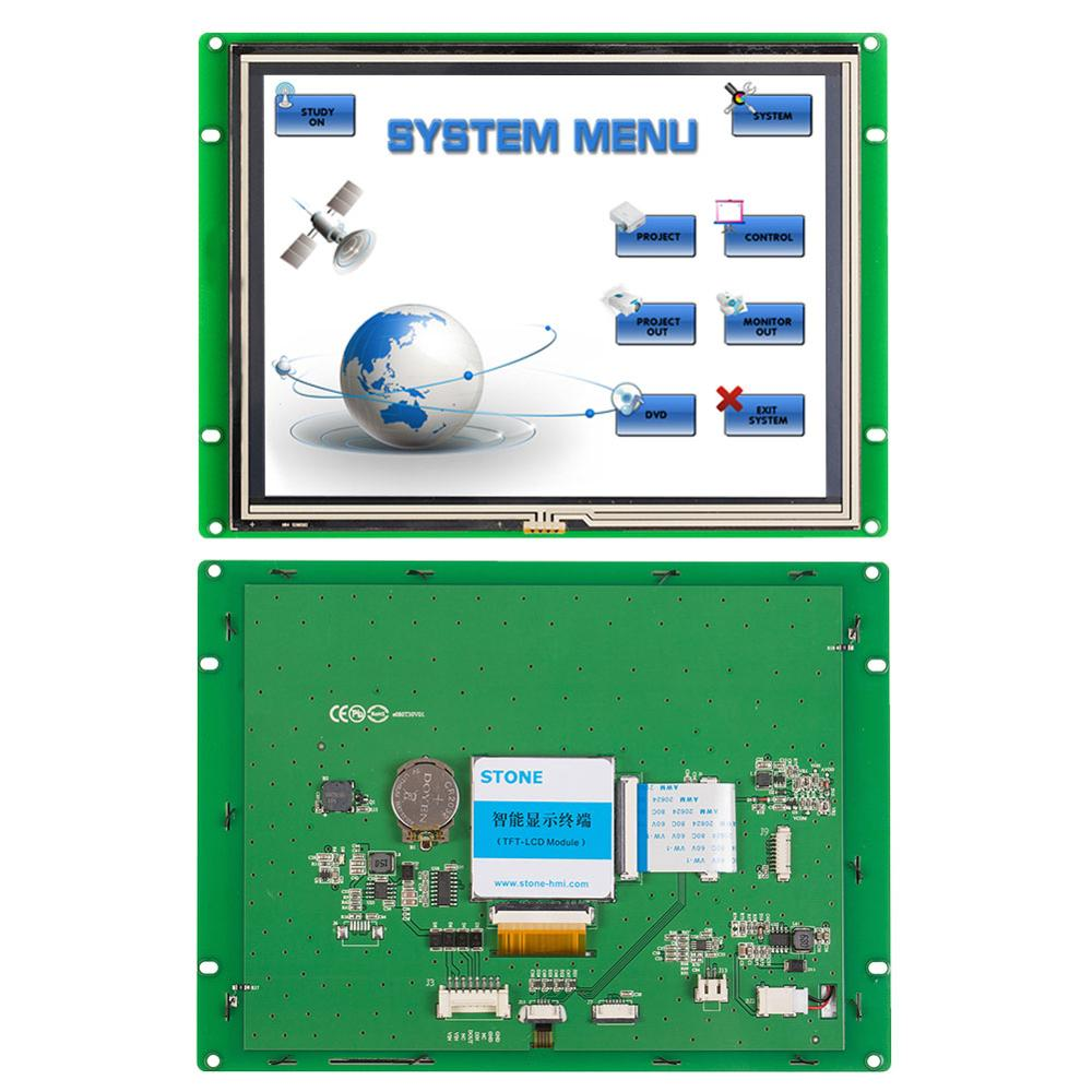 STONE 8.0 Inch HMI TFT LCD Display Module With Embedded System+Serial Interface For Industrial Use