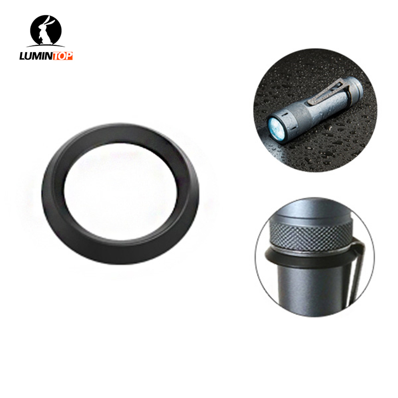 Lumintop Clip Tactical Ring For Lumintop FW3A FW21 Flashlight Clip Ring Flashlight Accessories for Lamp Lantern Torch