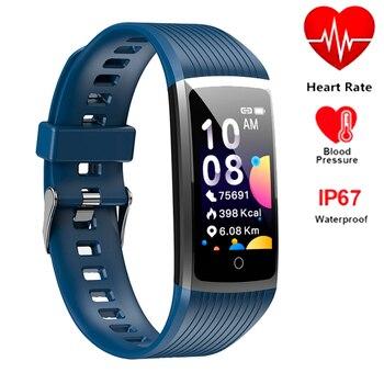 Smart Bracelet R12 sport watch band 5 Fitness Tracker Heart Rate Blood Pressure Waterproof Wristband For HuaWei Honor IOS Phone