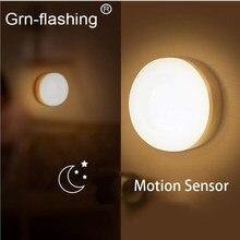 5 10 pçs 8 grânulo usb recarga corpo humano sensor infravermelho luz da noite led armário lâmpada de parede para o quarto cabeceira escada wc