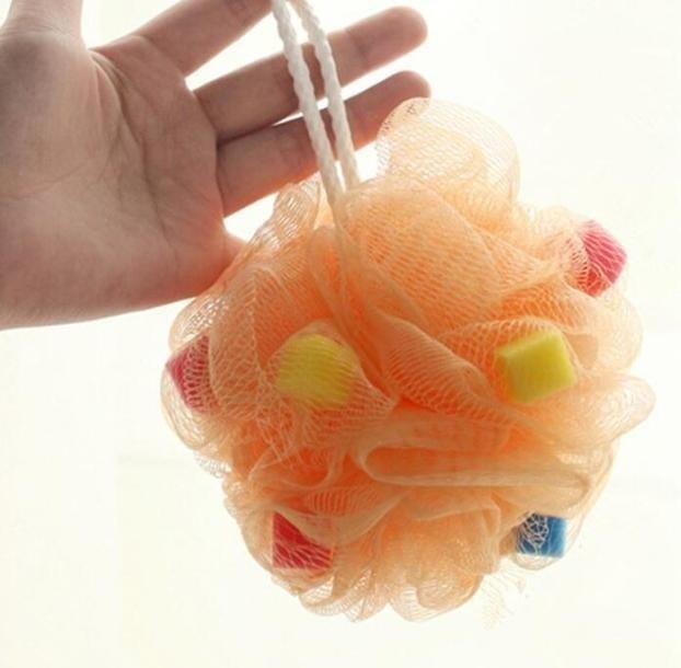 1pcs Body Brush Sponges Bath Brush Back Body Scrubs Sponges Shower Bath Flower Body Peeling Scrubber Random Color