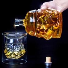 Графин для виски Хрустальная стеклянная бутылка-декантер волшебный аэратор для вина стекло es аксессуары шлем штурмовика из «Звездных Войн»