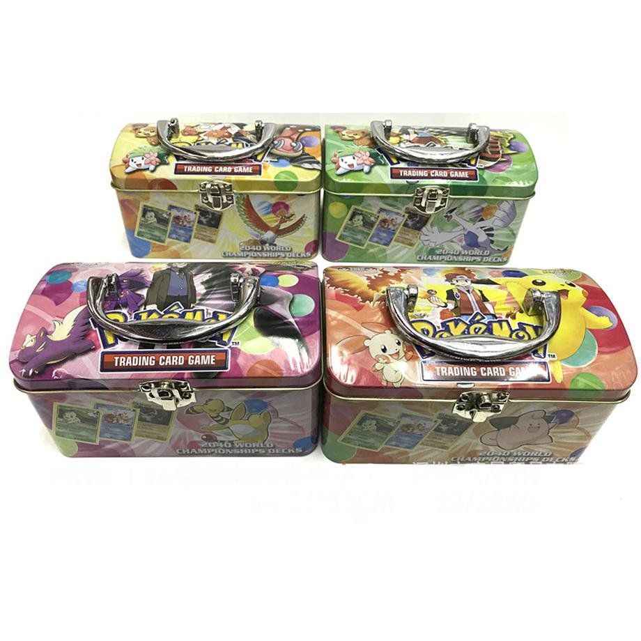 98pcs/set Pokemon TAKARA TOMY Battle Toys Hobbies Hobby Collectibles Game Collection Anime Cards For Children
