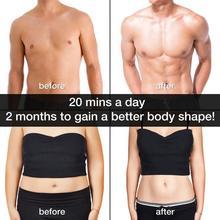 Men Women USB Smart EMS Abdominal Muscle Stimulator Exerciser Set Gym Training Weight Loss Slimming Fitness Equipment #SD