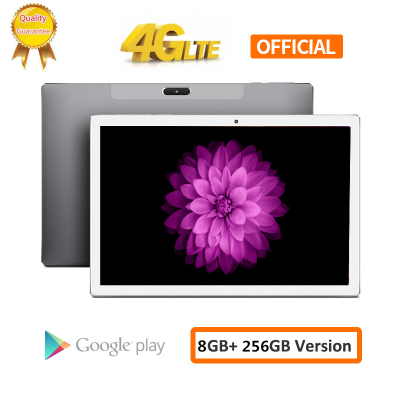 S119 8000 мАч Android 8,0 2.5D экран планшетный ПК 10,1 дюймов 4G LTE телефон планшетный ПК 10 ядерный ОЗУ 8 Гб ПЗУ 256 ГБ планшеты 2560*1600 шт