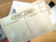 16pcs vintage post card and retro background stickers decoration stationery sticker diy diary scrapbooking label