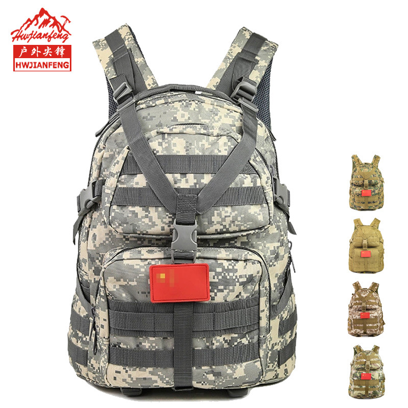 Manufacturers Currently Available Batch Hot Selling Army Fans Tactical Bag Outdoor Sports Hiking Bag Oxford Waterproof Camouflag