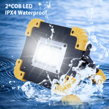 20W Portable COB Work Lamp LED Lantern Floodlight Searchlight Waterproof AA Battery Work Light Outdoor Home Portable Light