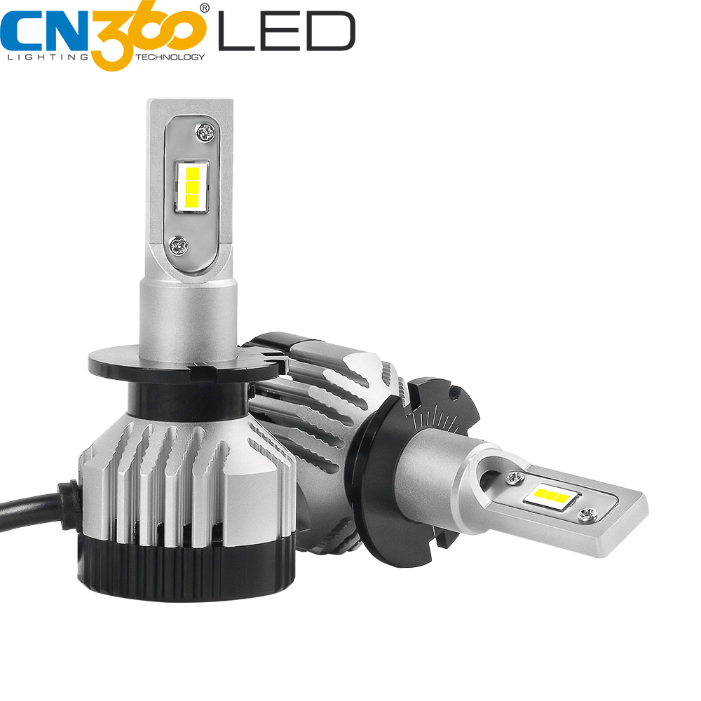 CN360 2PCS <font><b>H15</b></font> <font><b>LED</b></font> Headlight Bulb 9012(HIR2) d1 d2s d3 d4s Car Light Canbus <font><b>No</b></font> <font><b>Error</b></font> Auto Headlight 45w 6500k 12v 24v 14000lm image