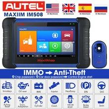 Autel MaxiIM IM508 OBD2 scania Auto Diagnose Auto Scanner Motor Werkzeug ECU XP200 Schlüssel Programmierung professionelle automotive scanner