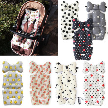CYSINCOS Baby Stroller Cotton Pad Thickening Cushion Baby Supplies Chi