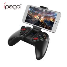 iPega PG-9068 Wireless Bluetooth 3.0 Gamepad Mobile Phone Game Controller Player Gaming Joystick GamePad for Mac PC Smart TV Box new pg 9087 bluetooth gamepad wireless gamepad android pc joypad game controller joystick for pubg mobile gaming pg 9087
