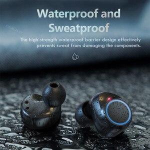 Image 5 - Auriculares TWS 5,0, inalámbricos por Bluetooth 9D, auriculares IPX7 impermeables deportivos con micrófono