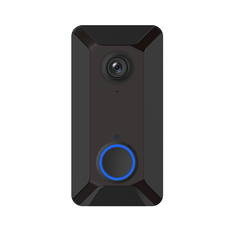 V6 720P Smart Doorbell Camera Wifi Video Visual Intercom With Chime Ip Door Bell Wireless Home Security Camera