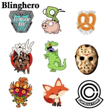 CA515  Iron-on DIY Handmade Decoration Stranger Things Patches for Kids Clothes Appliques Heat Transfer Sticker on Clothes 1pcs 2pc set black star beaded patches for clothing sequin stars rhinestone appliques beads parche diy handmade clothes accessories