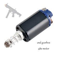 Smallmoon arp9 Gel Blaster gun spielzeug zubehör geändert starke magnetische lange welle 480 motor angepasst version 2 zweite getriebe