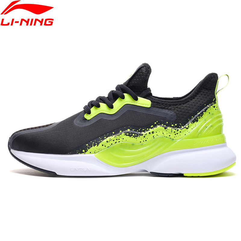 (Break Code)Li-Ning Men CRAZYRUN-X Cushion Running Shoes TPU Support LiNing CLOUD LITE Sport Shoes Anti-Slip Sneakers ARHP057