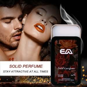 Perfume Women Fragrance Long-Lasting-Aroma-Deodorant Portable Solid Balm Case Mild