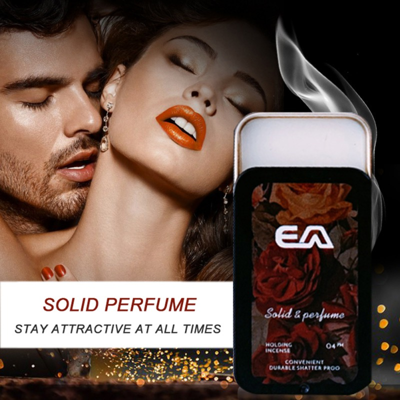 New Portable Case Solid Perfume Portable Fragrances Women Men Solid Balm Mild Long Lasting Aroma Deodorant Fragrance