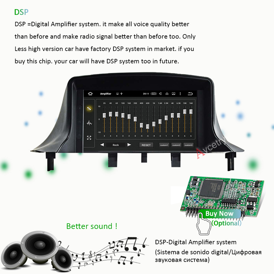 DSP IPS 4G+64G 2 din Android 9 Car Radio DVD Player