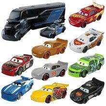 Disney Pixar Cars 3 Jackson Storm Mack Uncle Truck Cruz Ramirez 1:55 литье под давлением автомобиля из металлического сплава игрушечные модели машин для мальчиков